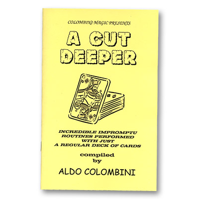 A Cut Deeper by Wild-Colombini - Book