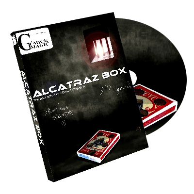 Alcatraz Box (RED Gimmick and DVD) by Mickael Chatelain