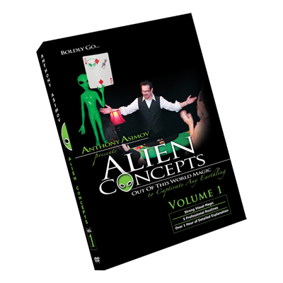 Alien Concepts Part 1 by Anthony Asimov Black Rabbit Series Issue #1 - DVD
