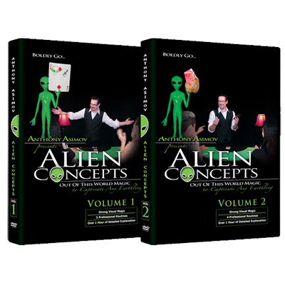 Alien Concepts by Anthony Asimov (2 DVD Set)