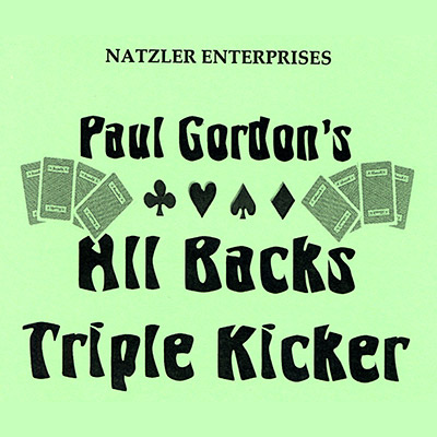All Backs Triple Kicker by Paul Gordon - Trick