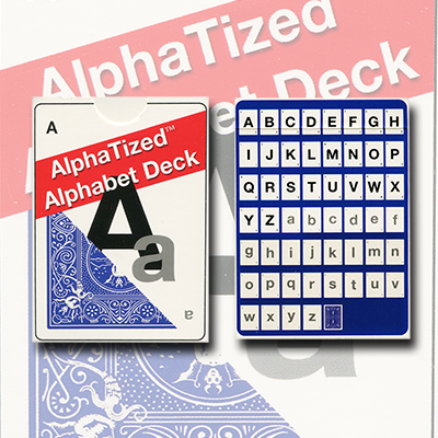 Alphatized MARKED ( Alphabet Cards) by Lee Earl - Trick