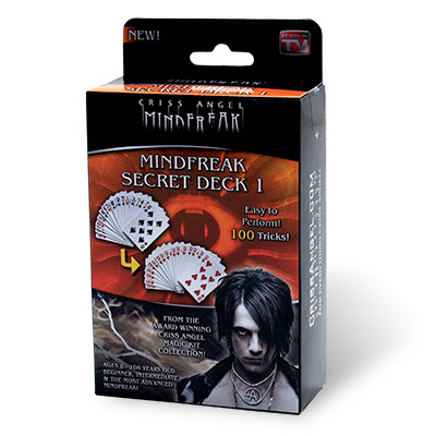 Criss Angel Secret Card Deck #1 - Trick