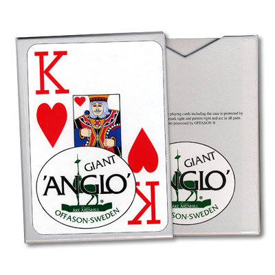 Anglo Deck (Red) by El Duco