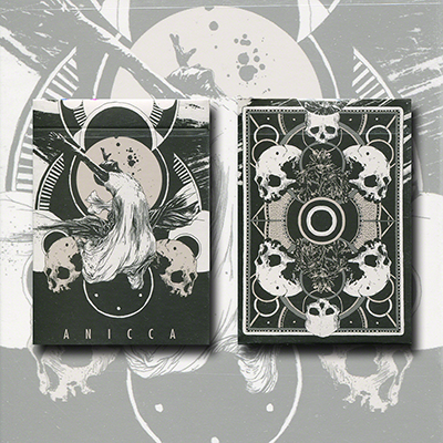 Anicca Deck (Silver) by Card Experiment - Trick