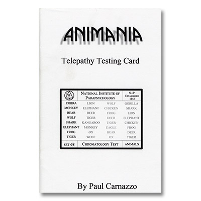 Animania by Paul Carnazzo