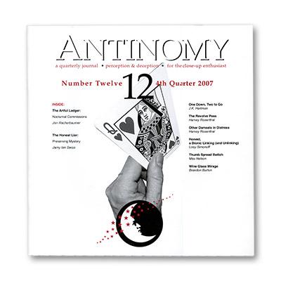 Antinomy Magazine #12 - Book