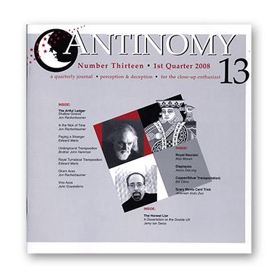 Antinomy Magazine #13 - Book
