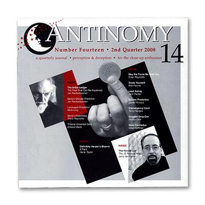 Antinomy Magazine #14 - Book