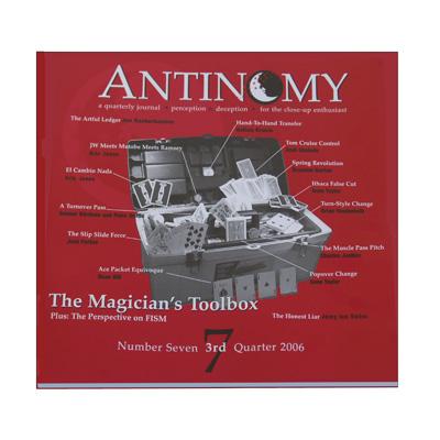 Antinomy Magazine #7 - Book