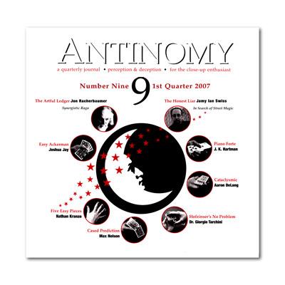 Antinomy Magazine #9 - Book