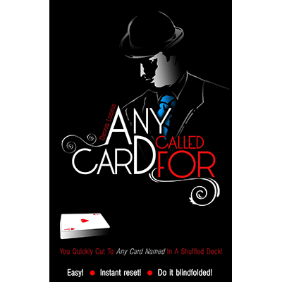 Any Card Called For (Red)by Dennis Loomis - Trick