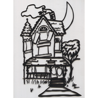 Instant Art insert (Haunted House)by Ickle Pickle Magic
