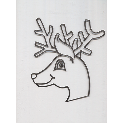 Instant Art insert (Rudolph)by Ickle Pickle Magic - Trick