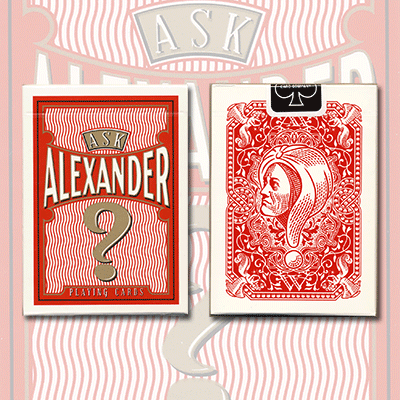 Ask Alexander Playing Cards - Limited Edition by Conjuring Arts - Trick