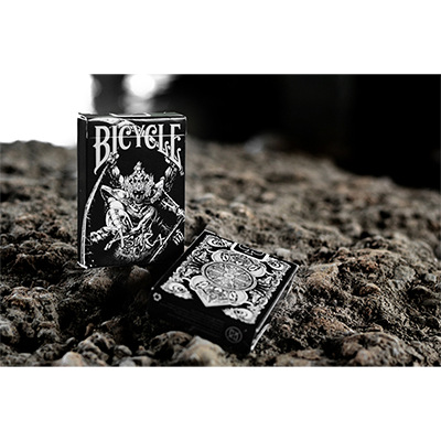 Bicycle Asura Deck (Black) by Card Experiment - Trick