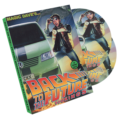 Back to the Future Bookings ( 2 Disc Set ) by Dave Allen - DVD