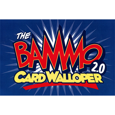 Bammo Card Walloper 2.0 (With Deck) by Bob Farmer - Trick