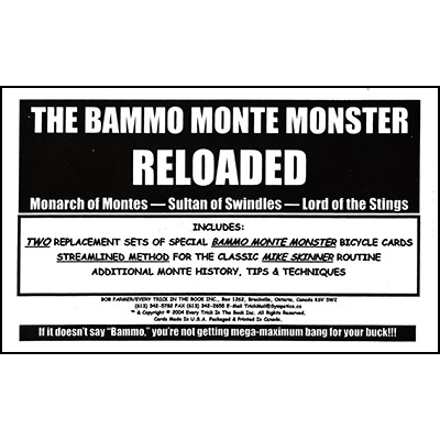 Bammo Monte Monster Reloaded by Bob Farmer - Trick