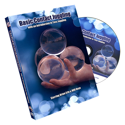 Basic Contact Juggling - Brian Erle & Will Roya - DVD