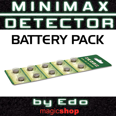 Batteries (Set of 2) for MiniMax by Edo - Trick