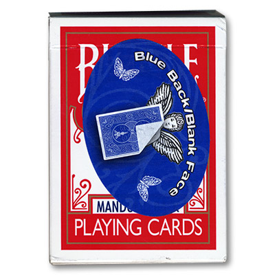 Cara Blanca - Cartas Bicycle - 809 Madolin (Azul)