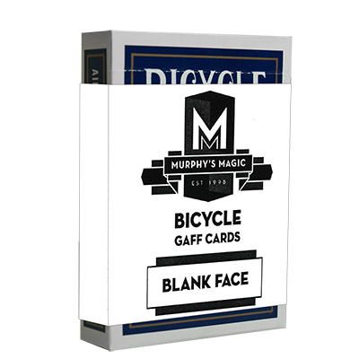 KARTY BICYCLE - BIANKO/ REVERZ MODRÝ RIDER BACK