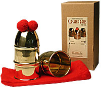 Cups & Balls Brass Regular by Bazar de Magia - Trick