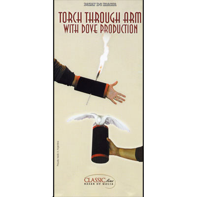 Torch thru Arm/Dove Production by Bazar de Magia - Trick