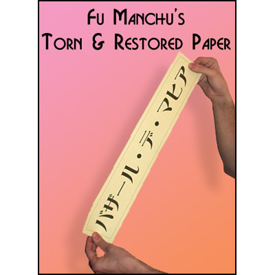 Torn and Restored Paper by Fu Manchu - Trick