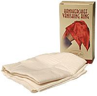 Handerchief Vanishing Ring (Blanco) - Bazar de Magia