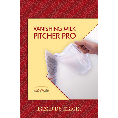 "Vanishing Milk Pitcher Pro (8.5"" x 5"") by Bazar de Magia - Trick"