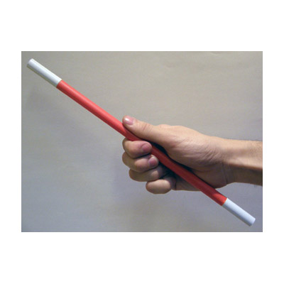 Magic Wand Red Body (White Tips) by Bazar De Magia - Trick