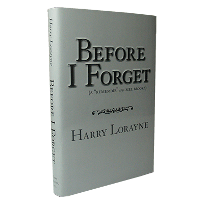 Before I Forget - Harry Lorayne - Libro de Magia