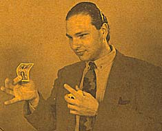 Bending Card trick Guy Bavli (Blue)