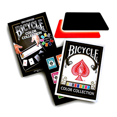Bicycle Color Collection (9 Decks, 2 Close Up Pads) - Tricks