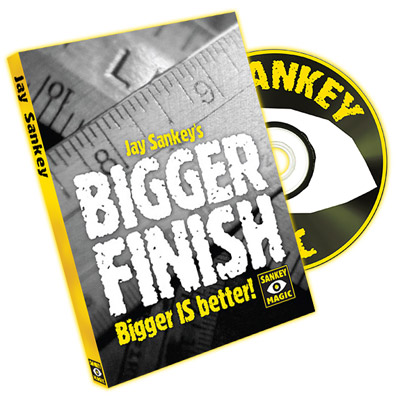 Bigger Finish (With DVD) by Jay Sankey - Trick