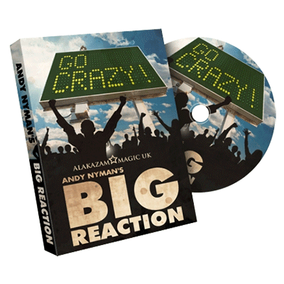 Big Reaction (DVD and Gimmicks) by Andy Nyman & Alakazam - Tricks