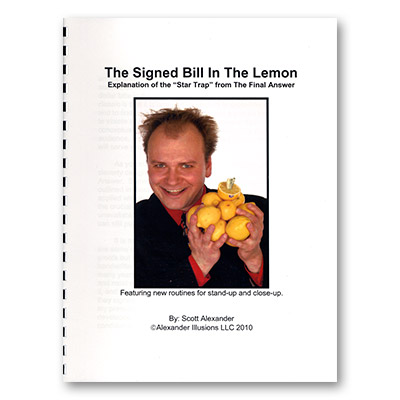 Bill in Lemon Book by Scott Alexander - Book