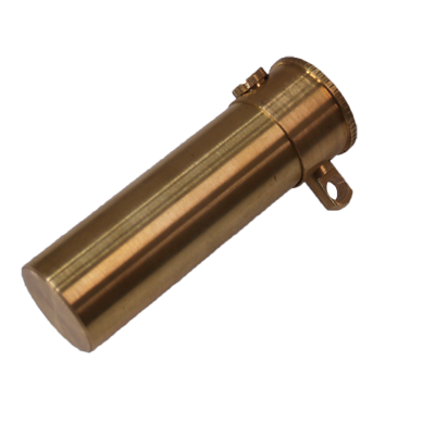 Pro Bill Tube (Brass) by Premium Magic - Trick