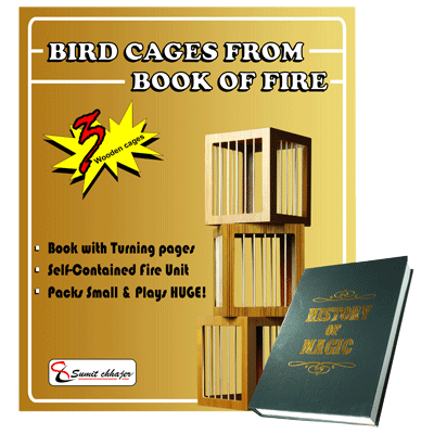 Bird Cages From Book of Fire - by Sumit Chhajer - Trick