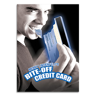 Bite Off Credit Card by Menny Lindenfeld - Trick