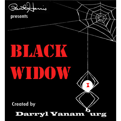 Paul Harris Presents Black Widow (With DVD) by Darryl Vanamburg - Trick