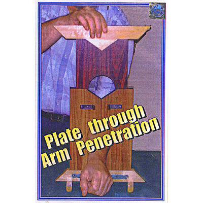 Plates Through Arm Illusion - Trick