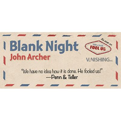 Blank Night (Yellow) by John Archer