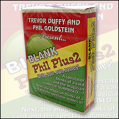 Blank Phil Plus 2 by Trevor Duffy - Trick