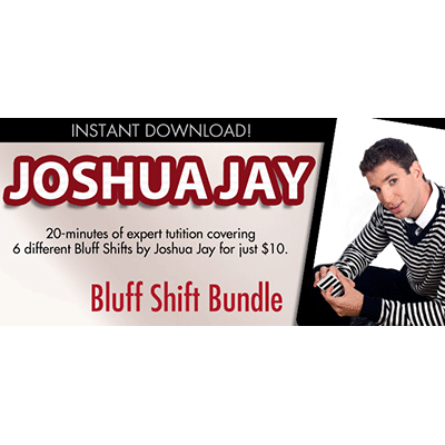 Bluff Shift Bundle by Joshua Jay and Vanishing Inc. video DOWNLOAD