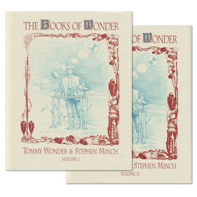 Books of Wonder 2-VOL COMBO set by Tommy Wonder - Book