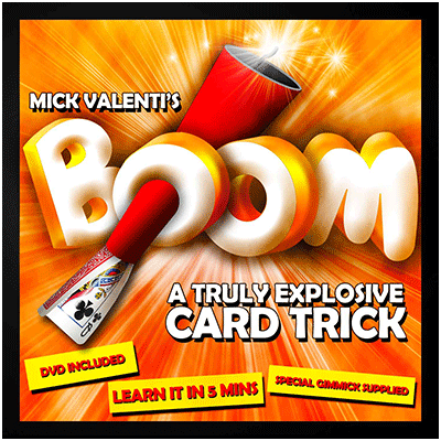 Boom by Mick Valenti