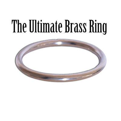A Quarter Pound Of Pure Brass: Ultimate Brass Ring by Wizard Craft - Trick